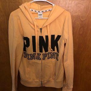 PINK brand zip up sweatshirt